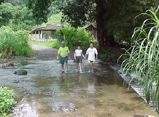 Entrada a El Campamento En Tlapacoyan