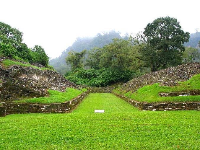 Zona Arqueol�gica El Cuajilote Rio Filobobos Veracruz