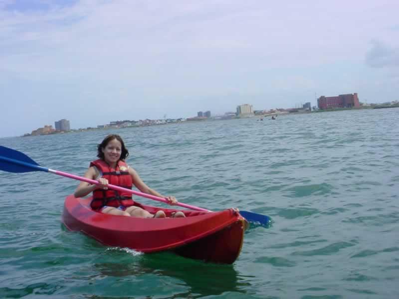 Kayak De Mar En El Estado De Veracruz